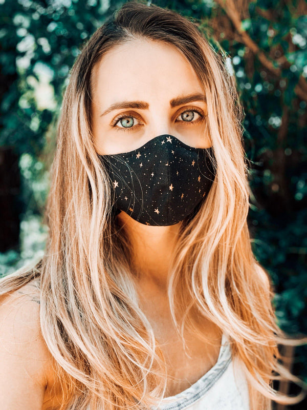 Fitted Cotton Face Mask