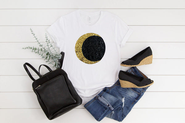 Witches Moon Tee Shirt - Shop Love and Bambii