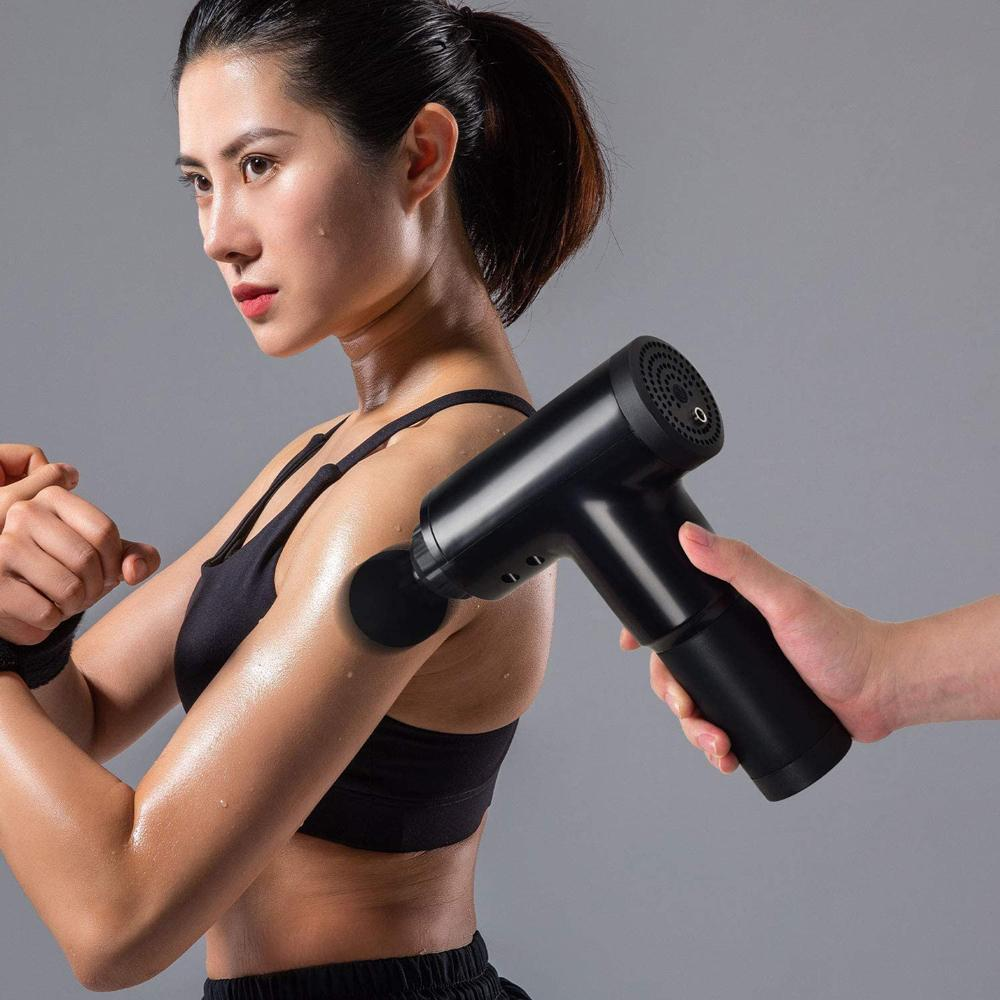 Nuodev Massage Pistol training pain sports tool abs plastic - Hybridus