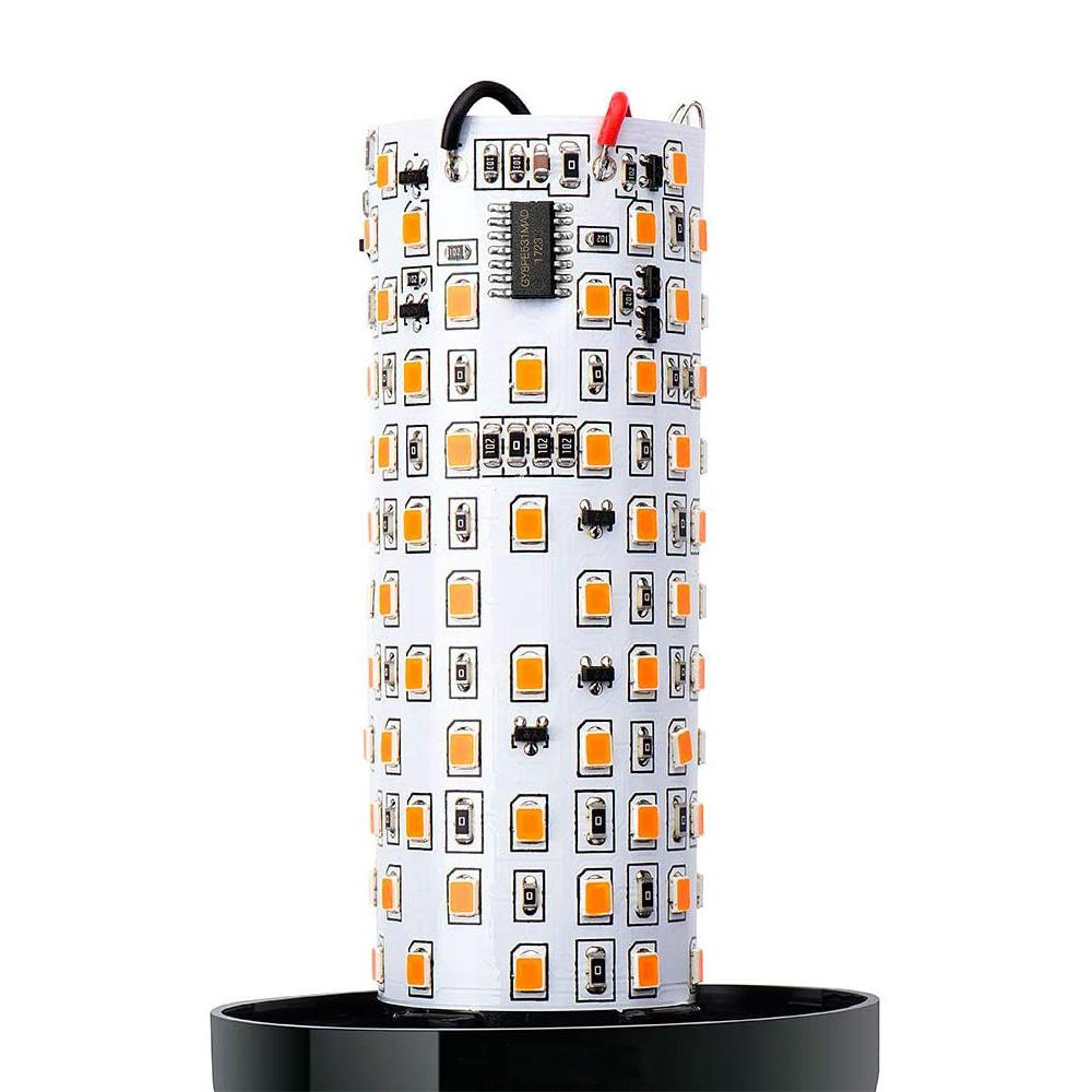 Nuodev Flaming lamp LED with 5 different light settings - Hybridus