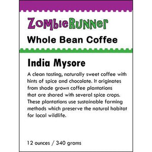 Whole Bean Coffee - India Mysore (12 oz)