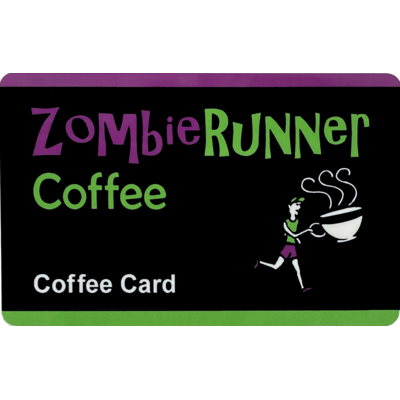 ZombieRunner Coffee Card