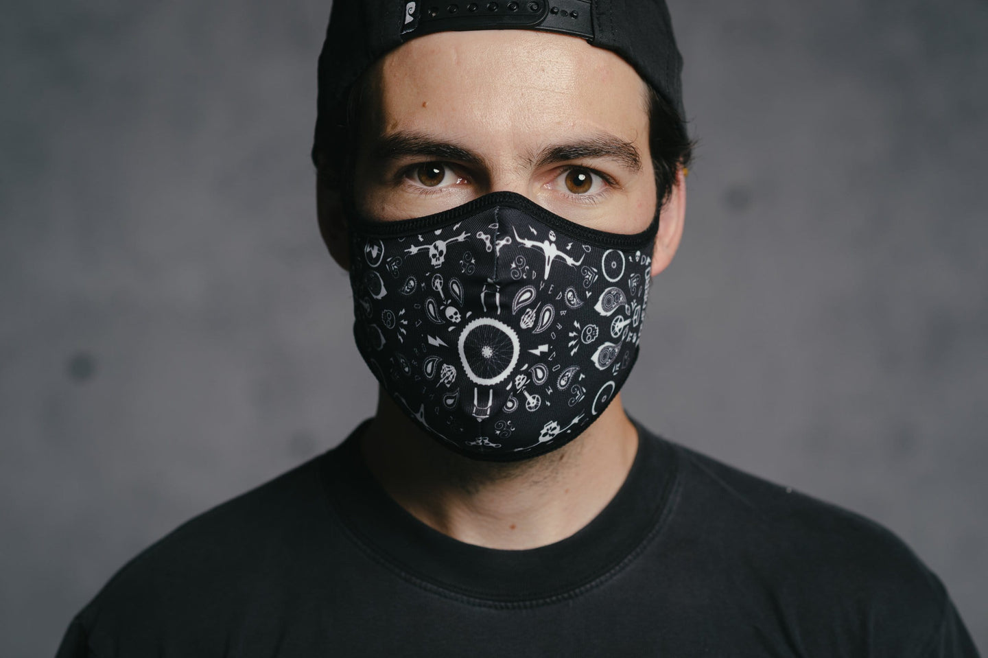 Face Mask - Bandana by DYEDBRO front view