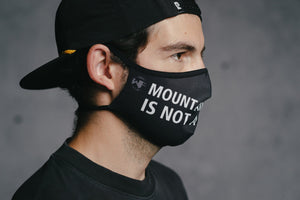 Face Mask - MTBNC by DYEDBRO right side view