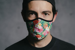 Face Mask - Hawaii by DYEDBRO front view