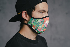 Face Mask - Hawaii by DYEDBRO right side view