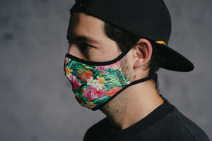 Face Mask - Hawaii by DYEDBRO left side view