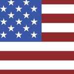 American flag color pattern