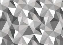Load image into Gallery viewer, Geometric design by DYEDBRO Pattern detail shot