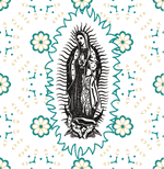 Guadalupe Black pattern