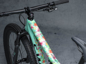 Hawaii design by DYEDBRO toptube shot