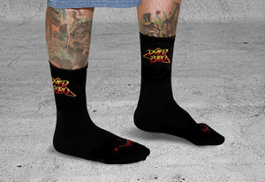 Arcade Socks by DYEDBRO Side