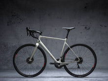Load image into Gallery viewer, Stay Free design by DYEDBRO in Black side profile of bike