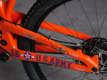 Load image into Gallery viewer, Warhawk P40 design by DYEDBRO NDS chainstay photo