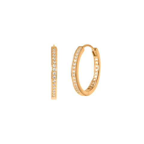 Mini Crystal Adina Hoops