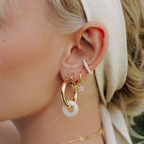 Lucy Pearl Hoops