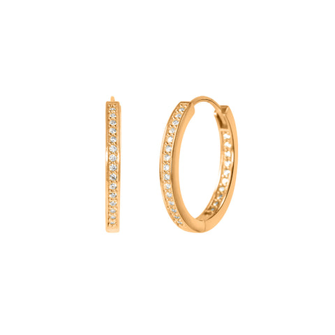 Crystal Adina Hoops