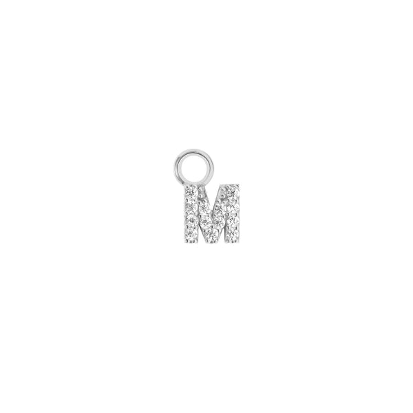 Mini Crystal Letter Charm