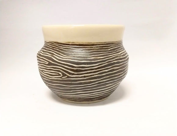 Wood Grain Pot 2