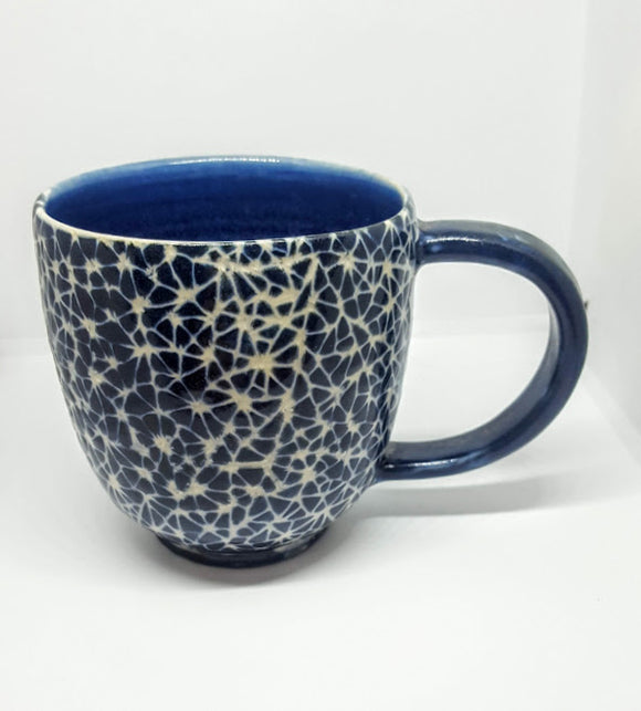 Mug in Broken Triangle Pattern