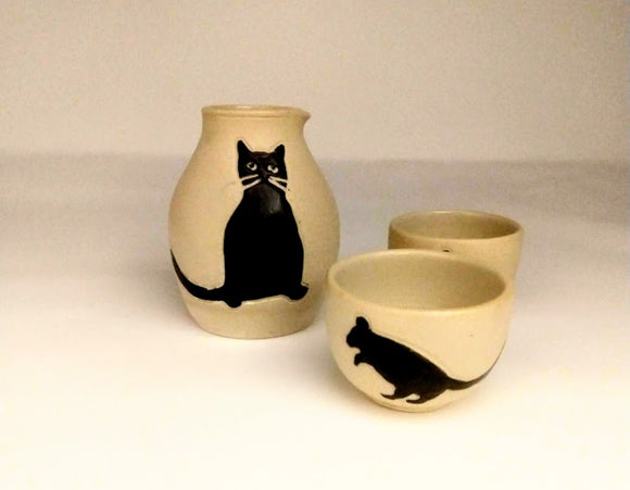 Sasha and mice sake set