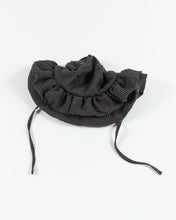 Load image into Gallery viewer, Ruffle Brim Hat - Charcoal Check