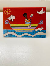 Load image into Gallery viewer, 'The Boat' greeting card