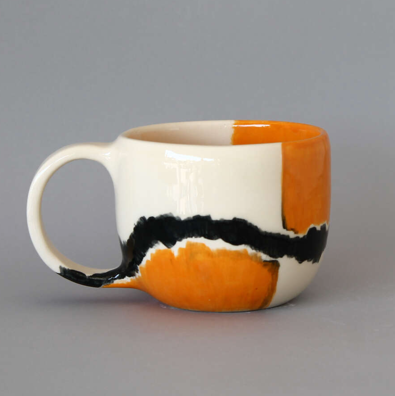 Black Strip - Mug
