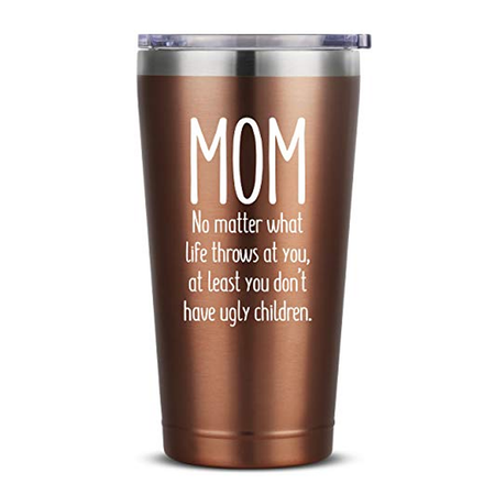 Moms Mother Gifts Idea from Kids Children Remember Mom I Love You Birthday Mothers Day Christmas Gift Ideas from Daughter Son 16 oz Mint Insulated Stainless Steel Tumbler w//Lid Mug for Women