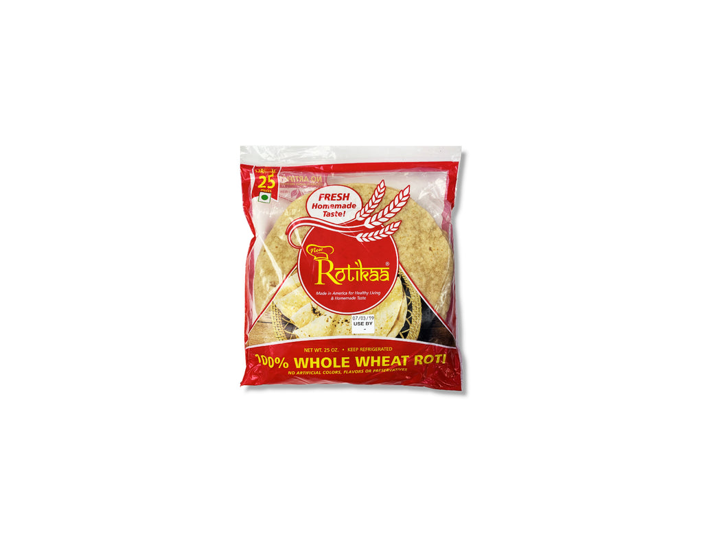 ROTIKAA - WHOLE WHEAT ROTI (BIG FAMILY PACK)