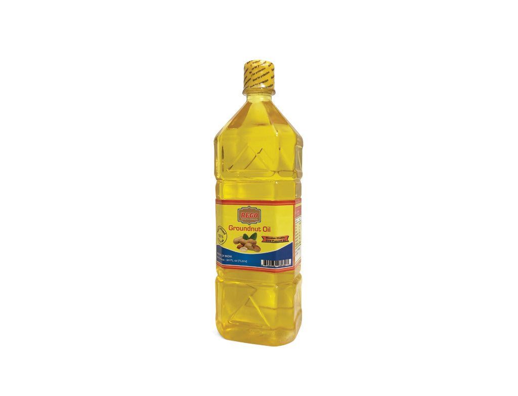 Groundnut Oil (1 liter Bottle)