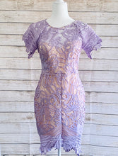 Load image into Gallery viewer, Lavender Lace Dress