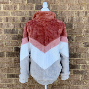 Neutrals Chevron Jacket