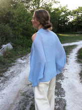 Load image into Gallery viewer, Open Shoulder Kimono Sleeve Cardigan