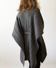Load image into Gallery viewer, Belted Poncho