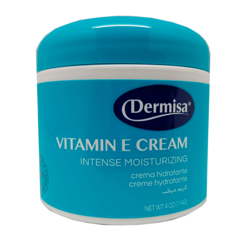 Dermisa Vitamin-E Corporal, Softens and Protects 4 Oz / 114 g.