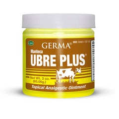Germa Udder Butter Ointment Plus,Yellow/Pomada Manteca Ubre Plus,Amarrillo-3oz