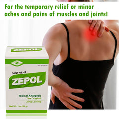 Zepol Topical Analgesic Original 1 Oz