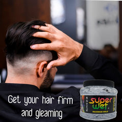 Super Wet Hair Styling Gel Jumbo, 2.2 Lb / 1 Kg.