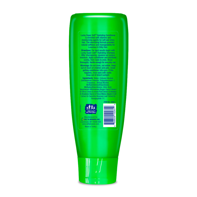 Lucky Super Soft Conditioner - Hydrating 13 Fl.Oz.