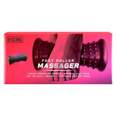 EDX - Foot Roller Massager - Black