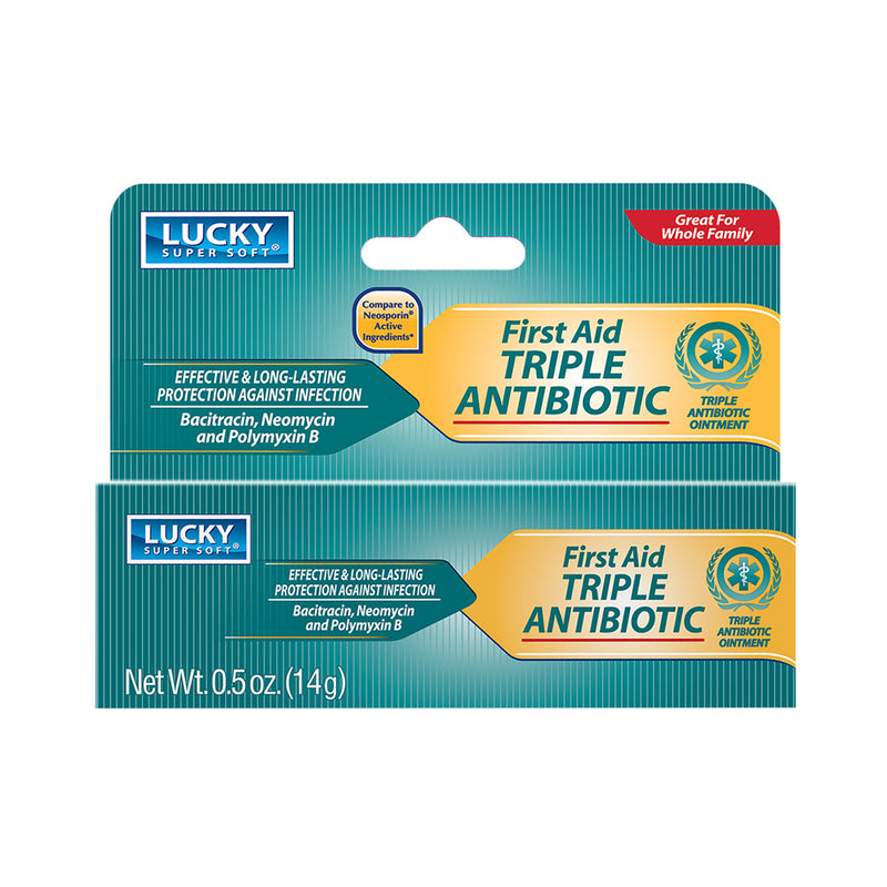 Lucky Super Soft Triple Antibiotic Ointment 0.5 Oz.