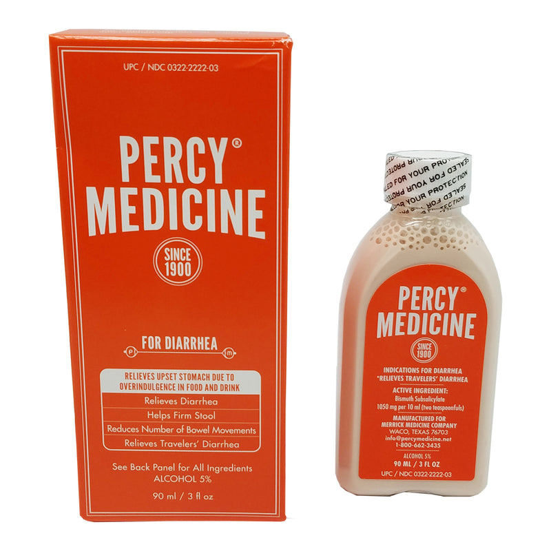 Percy Medicine for Upset Stomach 3 FO