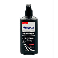 Asepxia Liquid Acne Cleanser Activated Charcoal