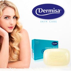 Dermisa Sensitive Skin Bar, Oat & Chamomile Extract, Lavender Oil 3.0 Oz / 85 g.
