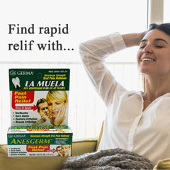 Germa Anesgerm, La Muela, Oral Pain Relief