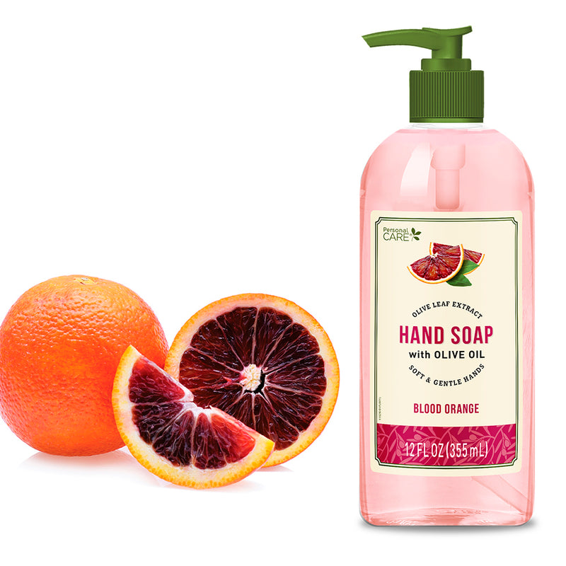 Personal Care Olive Oil Soap - Blood Orange 12 Fl. Oz.