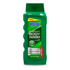 Lucky Super Soft Body Wash - Deodorant Green 16 fl.oz.
