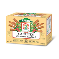 Tadin Tea Canelita / Cinnamon Tea Blend. 24 Bags. 1.52 Oz