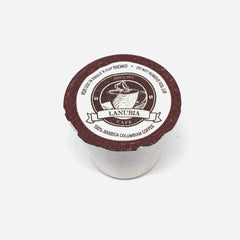 La Nubia Cafe 100% Select Colombian Coffee K-Cup Pod Pack of 72.